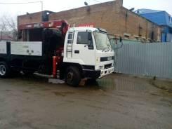 Isuzu. Автокран isuzu, 16 400 куб. см., 3 000 кг.