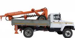 ГАЗ-33081. Продается Бурильно-крановая машина БКМ-3У на базе а/м ГАЗ 33081