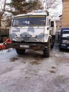 Камаз 43105. Камаз 4310 грузовой фургон (автодом), 12 000 куб. см.