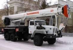 "Услуги и аренда автокрана ""челябинец"" 32 тонн длина стрелы 33 метра"
