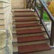 Противоскользящее Резиновое Покрытие для лестниц
