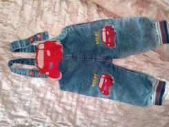 Комбинезоны джинсовые.