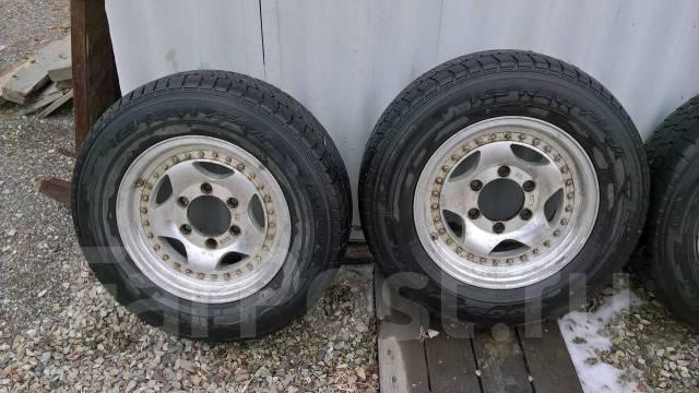 Продам колеса на литье 215/70/15 Toyota Hiace. 6.5x15 6x139.70 ET23
