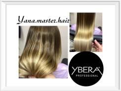Кератиновое восстановление и Выпрямление волос без формальдегида