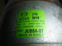 Компрессор кондиционера. Mazda Mazda3, BM Двигатели: SHVPTS, P5VPS, ZMDE, PEVPS