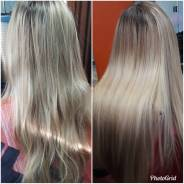 Кератиновое выпрямление, ботокс волос