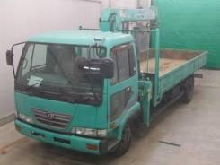 Nissan Condor. Бортовой грузовик с манипулятором , 7 000 куб. см., 3 000 кг. Под заказ