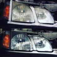 Восстановление прозрачности оптики авто и мото техники