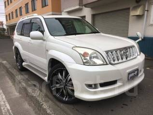 Toyota Land Cruiser Prado. автомат, 4wd, 3.4 (185л.с.), бензин, 95 000тыс. км, б/п, нет птс. Под заказ