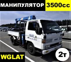 Mazda Titan. Wglat бортовой грузовик с манипулятором, 3 500 куб. см., до 3 т. Под заказ
