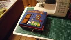 Развивающая книжка из ткани и фетра Кукольный домик.