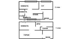 3-комнатная, улица Татарская 11. Вторая речка, агентство, 80 кв.м. План квартиры