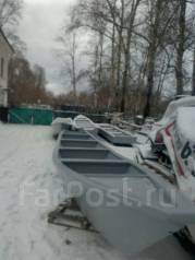 Лодка для промысла, перевозки рыбы и грузов. 2017 год год, длина 11,00м., двигатель подвесной, 60,00л.с., бензин. Под заказ