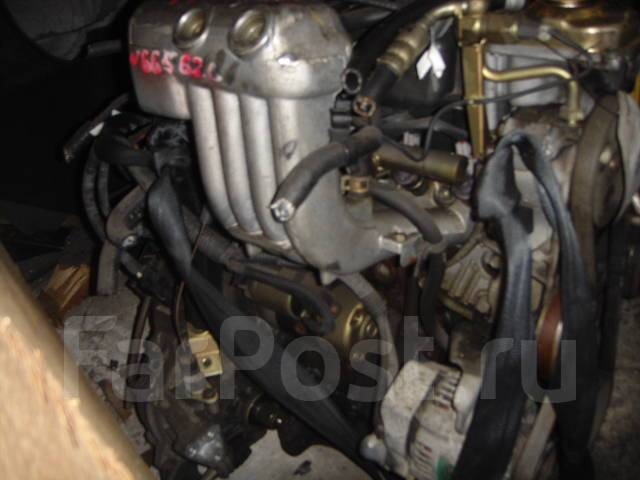 Двигатель в сборе. Subaru Vivio, KK3 Двигатель EN07
