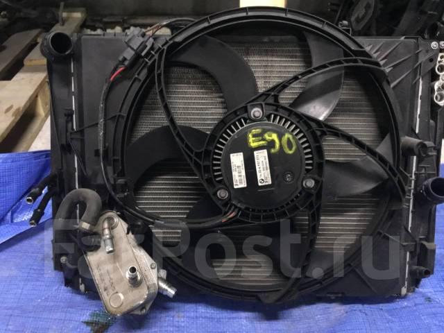 Радиатор охлаждения двигателя. BMW: X3, X1, M3, 3-Series, 1-Series Двигатель N46B20