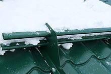 Барьеры снеговые.