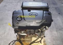 Двигатель в сборе. Kia Rio Kia Shuma Kia Spectra