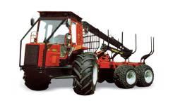 МТЗ. Беларус МЛ-131 машина лесная погрузочно-транспортная с манипулятором Л