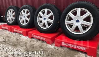 551 Диски Bridgestone Feid SS7 из Японии + Жирная Зима ~8.8mm. 6.5x16 5x100.00, 5x114.30 ET54 ЦО 73,1мм.