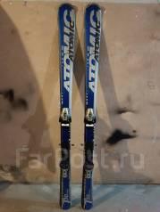 Лыжи горные. 148,00см., горные лыжи, универсальные