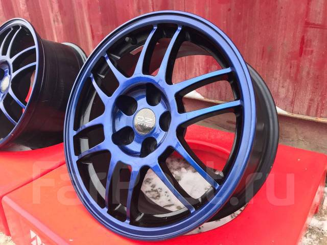 OZ Racing F1 Plus. 7.5x17, 5x114.30, ET38, ЦО 66,6 мм.