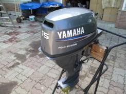 Yamaha. 15,00л.с., 4-тактный, бензиновый, нога L (508 мм), Год: 2002 год