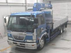 Nissan Condor. Бортовой грузовик с манипулятором , 7 680 куб. см., 10 000 кг. Под заказ