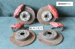 Рабочая тормозная система. Toyota Corona Exiv, ST205 Toyota Carina ED, ST205 Toyota Celica, ST205