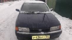 Габаритный огонь. Nissan Primera, P10 Двигатели: SR18DE, SR18DI