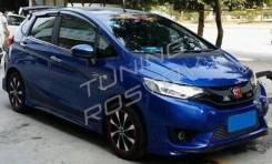 Обвес кузова аэродинамический. Honda Fit, GK6, GK5 Honda Jazz