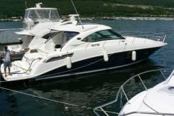 Searay Sundancer. Год: 2011 год, длина 14,40м., двигатель стационарный, 918,00л.с., дизель