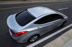 Спойлер. Hyundai Avante, MD Двигатели: L4FA, G4FD