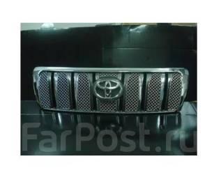 Молдинг решетки радиатора. Toyota Land Cruiser, UZJ100L, J100, HZJ105L, HZJ76L, HDJ100L, HDJ101K, UZJ100W Двигатели: 2UZFE, 1HZ, 1HDFTE