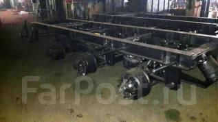 САТ-142, 2017. В наличии! Подкатная тележка САТ-142 3 оси BPW пневматическая подвеска, 30 000 кг.