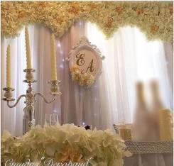 Оформление зала на свадьбу! Подарки!
