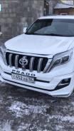 Накладка на бампер. Toyota Land Cruiser Prado, GDJ150W, TRJ150W, GDJ151W, GDJ150L, TRJ12, GRJ150W, GRJ150L, KDJ150L, GRJ151W Двигатели: 1GDFTV, 2TRFE...