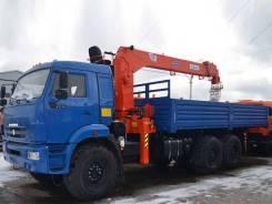 Kanglim KS1256G-II. Новый Камаз 43118 бортовой с КМУ Kanglim 1256G-II, 11 150 куб. см., 7 000 кг., 21 м.