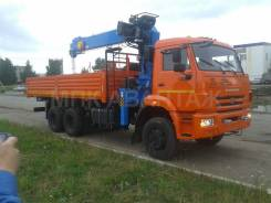 Камаз 65111. вездеход с кму 7 тонн, 7 777 куб. см., 10 т и больше
