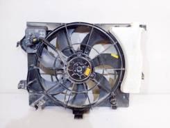 Вентилятор охлаждения радиатора. Hyundai Solaris Hyundai Veloster Hyundai Accent Hyundai i20 Kia Rio, UB Kia Pride Двигатели: G4FA, G4FC. Под заказ