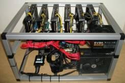 Новая ферма 6 видеокарт MSI Radeon RX 580 8Gb
