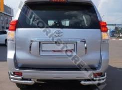 Защита бампера. Toyota Land Cruiser Prado, TRJ150, GRJ150, TRJ12, GRJ151W, TRJ150W, GDJ150L, GRJ150W, GDJ151W, GDJ150W, GRJ150L, KDJ150L Двигатели: 1K...