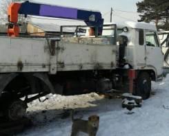 Isuzu Elf. Продам грузовик с манипулятором, 6 500 куб. см., 8 000 кг.