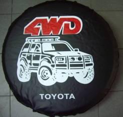 Чехол для запасного колеса. Toyota