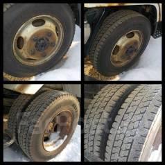 Продам 6 колес DYNA ЗИМА 6ШТ Bridgestone 205/80/R17,5 Во Владивостоке. x17.5