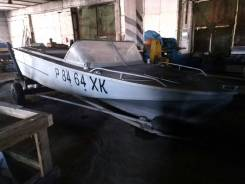 Амур-М. длина 5,50м., двигатель стационарный, 60,00л.с., бензин