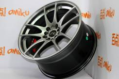 Work Emotion CR Kiwami. 9.5x18, 5x100.00, 5x114.30, ET30, ЦО 73,1 мм.