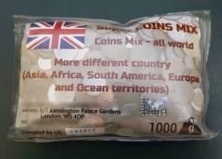 Иностранные монеты 1кг. В упаковке. В Наличии! Последний пакет!
