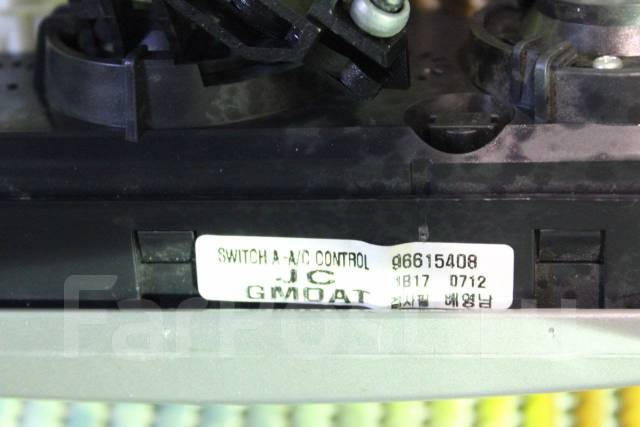 Блок управления климат-контролем. Chevrolet Lacetti, J200 Двигатели: L14, L34, L44, L79, L84, L88, L91, L95, LBH, LDA, LHD, LMN, LXT, F16D3