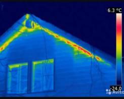 Теплоаудит , поиск теплопотерь зданий