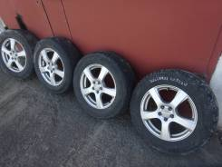 """Колеса на красивом литье 215/65/16 Dunlop 2010 ГОД. x16"""" 5x100.00"""